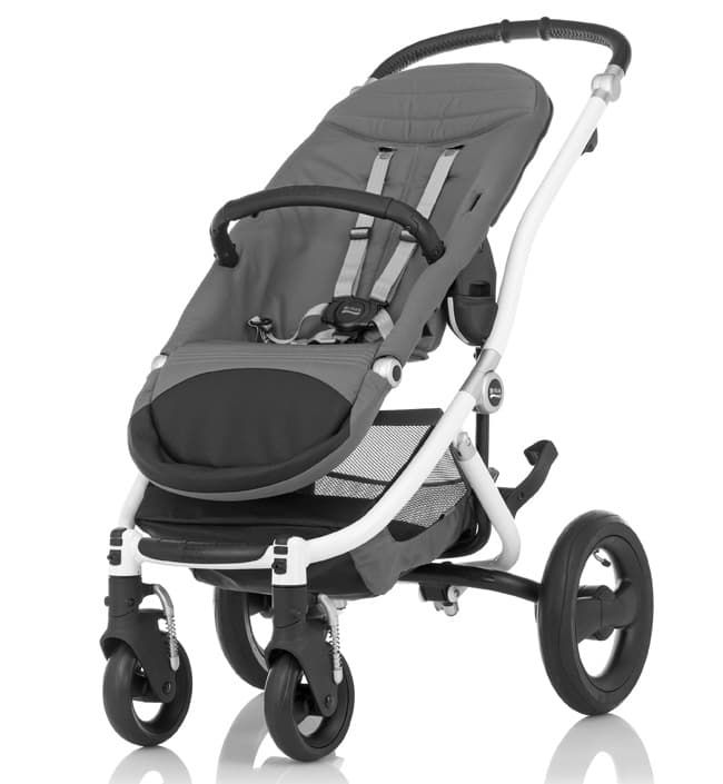 Коляска Britax Коляска Britax Affinity White Chassis (белое шасси+прогулочный блок)