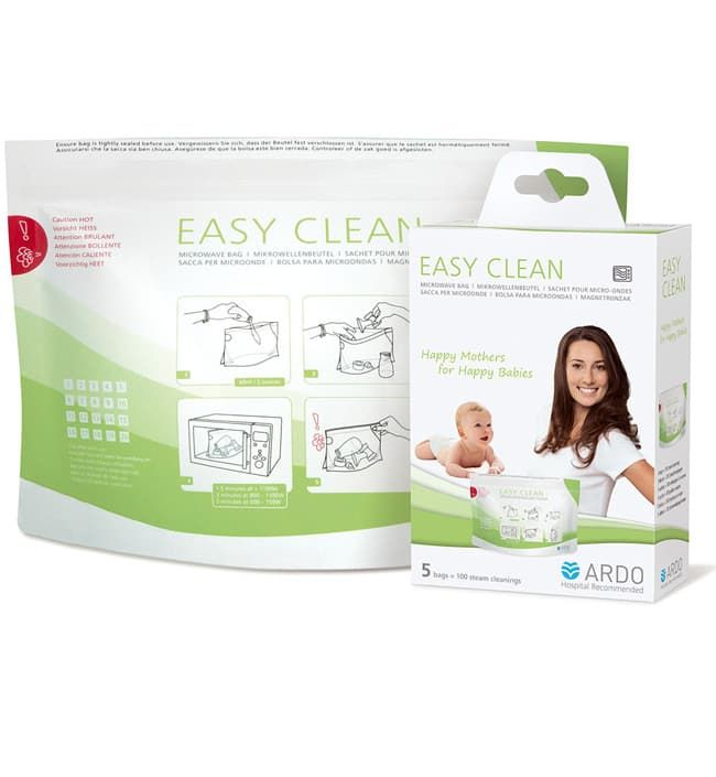 Пакеты для стерилизации в СВЧ-печи Ardo Easy Clean