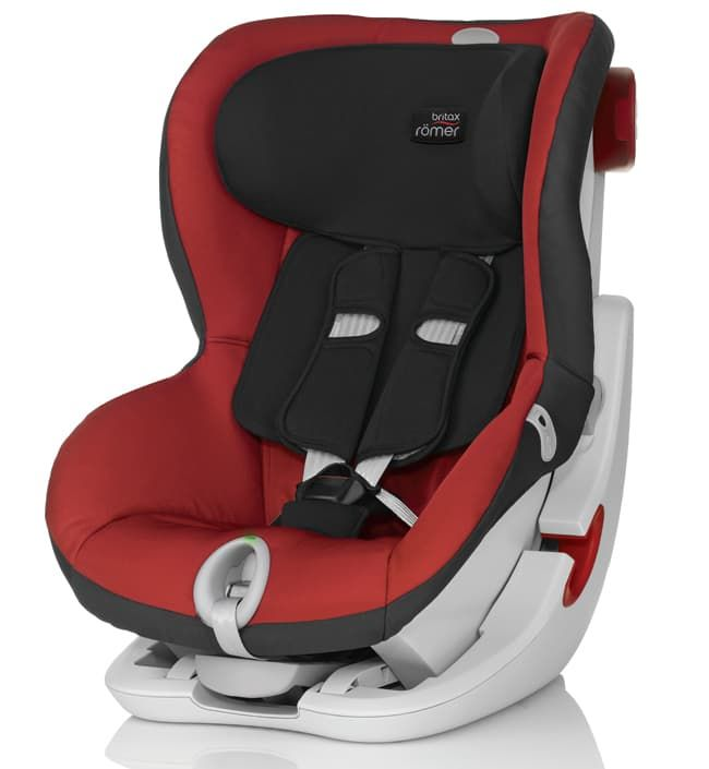Britax Roemer Детское автокресло King II LS Chili Pepper рубашка в клетку dc shoes yorton ls chili pepper