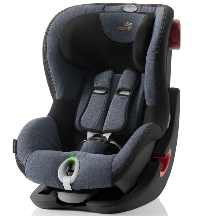 Автокресло Britax Roemer Детское автокресло KING II LS (группа 1, от 9 до 18 кг) Black Series Blue Marble автокресло britax roemer детское автокресло britax roemer baby safe plus shr ii группа 0 до 13 кг moonlight blue