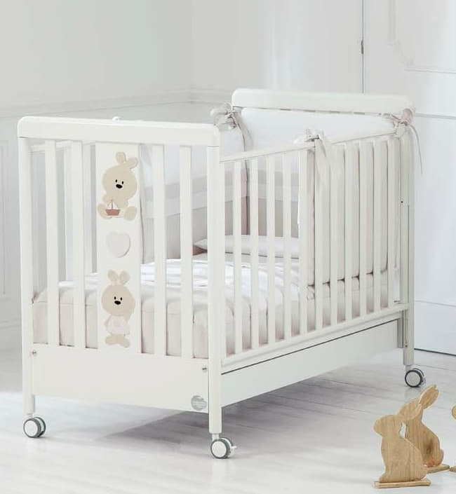 Кровать Baby Expert Кровать Baby Expert Trotto&Lina белый кровать baby expert кровать baby expert abbracci by trudi крем