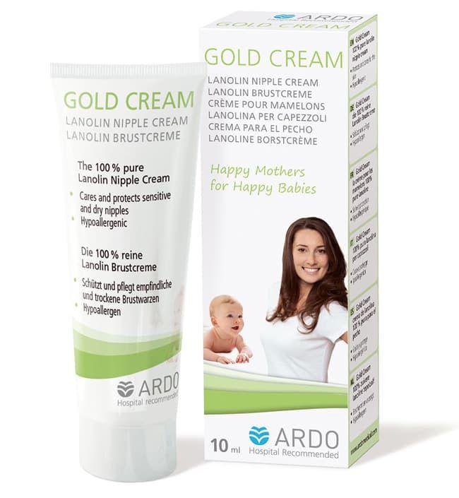 Ardo Ланолиновый крем для сосков Gold Cream (10 мл)