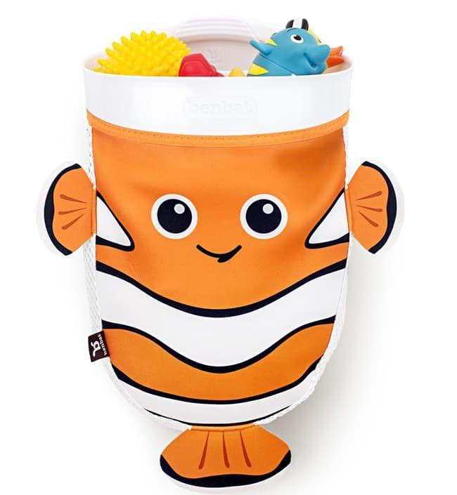 Органайзер Benbat Captain NemoКупание и гигиена<br>Органайзер для ванны,рыбка<br><br>Цвет: Оранжевый<br>Габариты ( В х Ш х Д ), см: None