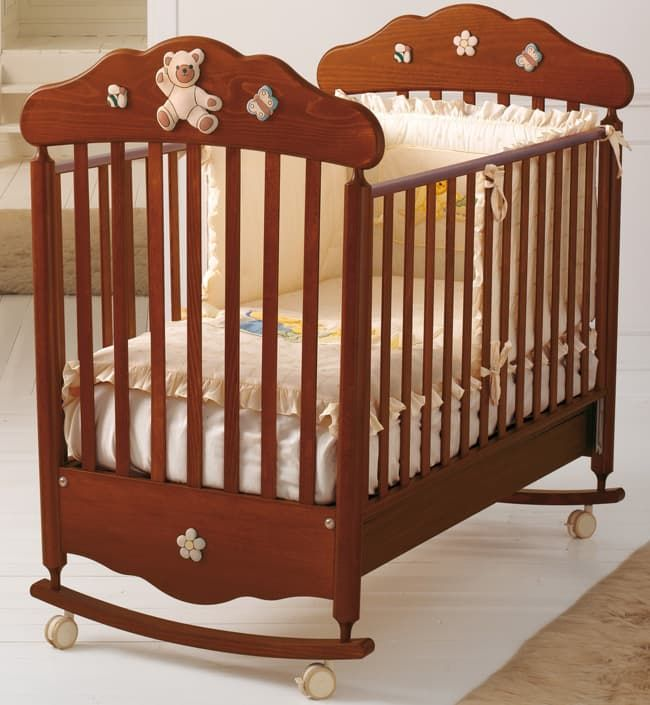 Кровать Baby Expert Ceramics Bijoux античный орех кровать baby expert кровать baby expert romantico античный белый