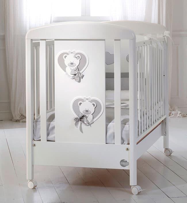 Кровать Baby Expert Кровать Baby Expert Duetto белый/серый кровать baby expert кровать baby expert abbracci by trudi крем