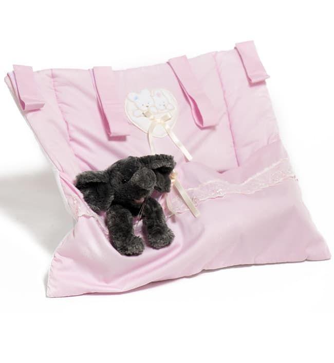 Карман для пижамы и белья Italbaby Mon CoeurДекор и аксессуары<br>Карман для пижамы MON COEUR розовый<br><br>Цвет: Розовый<br>Габариты ( В х Ш х Д ), см: 50х60