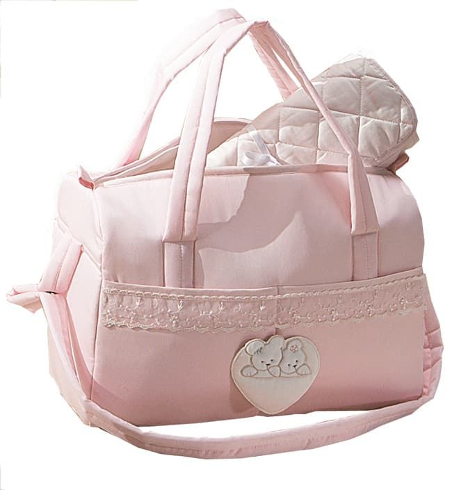 Сумка Italbaby Сумка для аксессуаров Mon Coeur розовая italbaby сумка переноска для новорожденного italbaby mon coeur