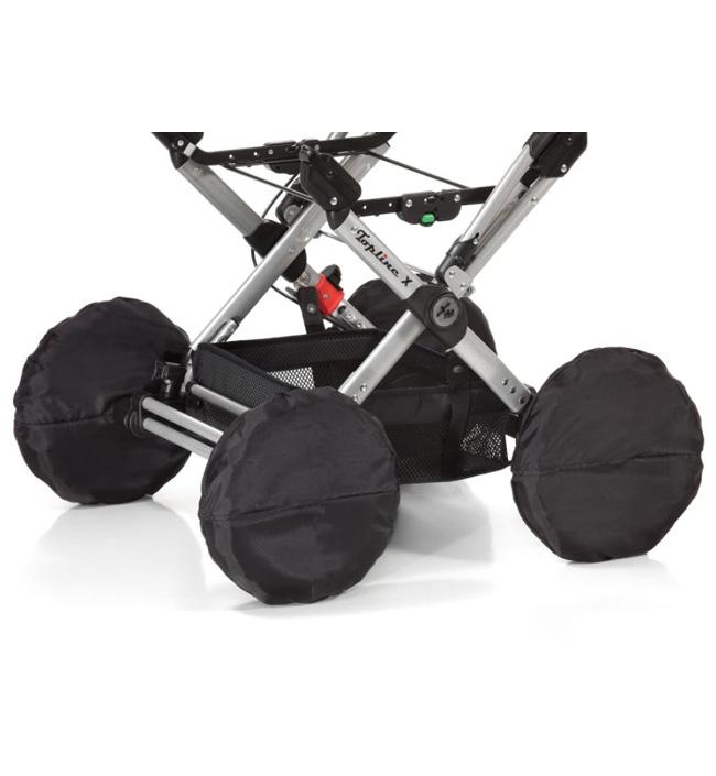 Чехлы на колеса для колясок Topline X, Buggy iX1, Skater GT, Racer GTS (Hartan)