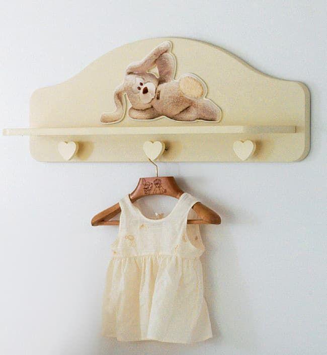 Полка-вешалка Baby Expert Cremino by Trudi - Полки, вешалки