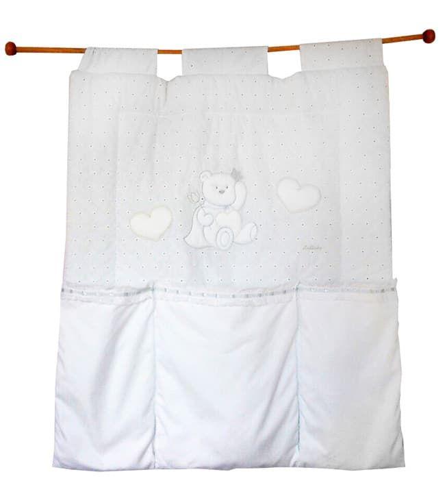 Italbaby Настенный карман Principini белый