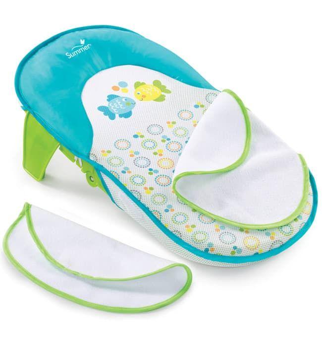 Складной лежак для купания Summer Bath Sling бирюзовый (Summer Infant)