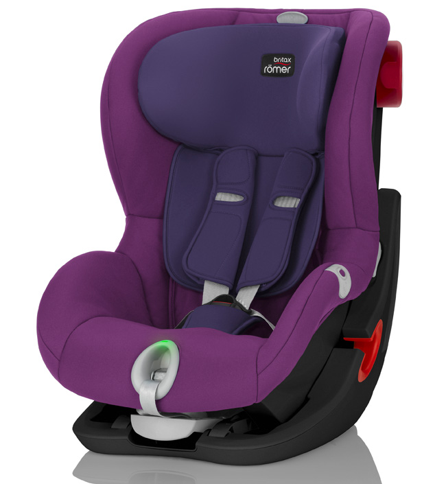 Автокресло Britax Roemer Детское автокресло King II LS (группа 1, от 9 до 18 кг) Black Series Mineral Purple автокресло britax roemer детское автокресло discovery sl группа 2 3 от 15 до 36 кг flame red