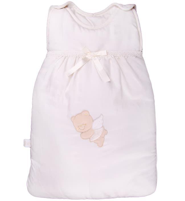 Теплый детский спальник-конверт Sweet Angels крем (Italbaby)