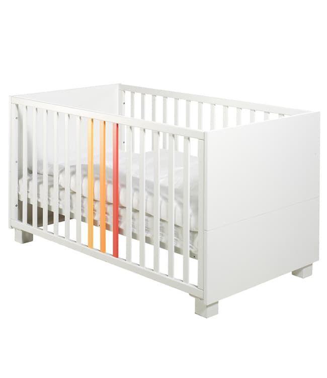 Кровать Geuther Кровать Geuther ColorLine белая с цветными вставками манеж geuther lucilee 2263na32