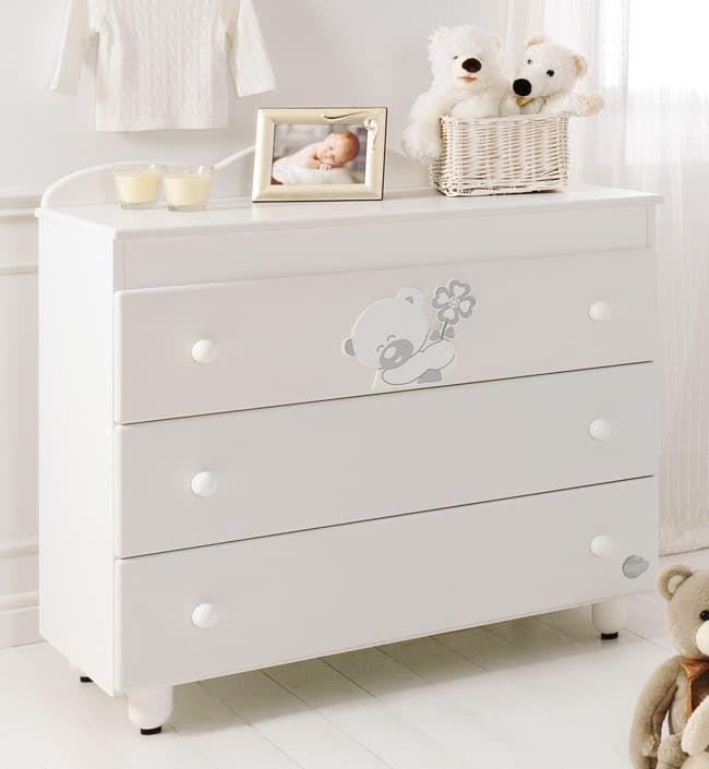 Комод Baby Expert Serenata с 3 ящиками