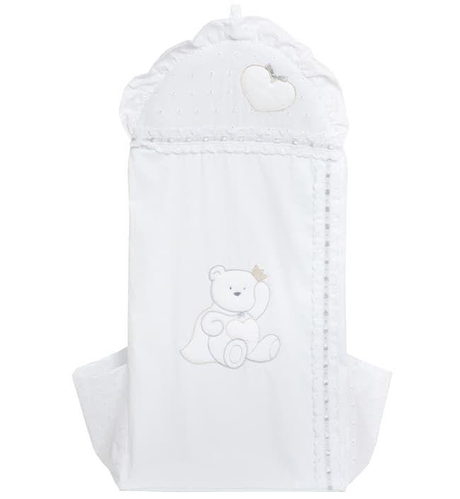Мешок Italbaby Мешок для подгузников Principini белый  rtc мешок для подгузников рastello