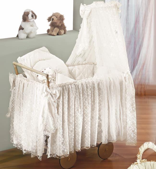 Кроватка-люлька Italbaby Кроватка-коляска Angioletti белая