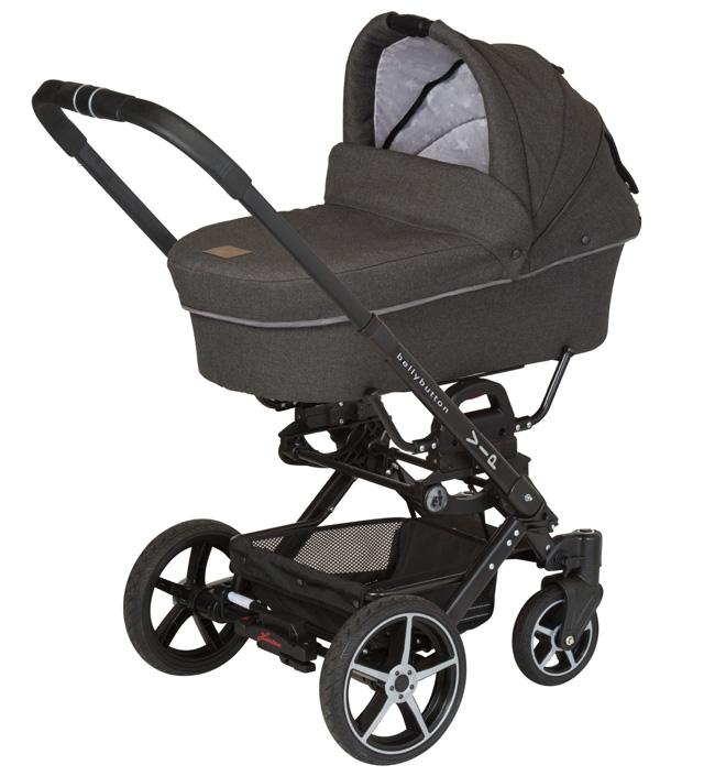 Детская коляска 2-в-1 Hartan Vip GT XL 858 BellyButton