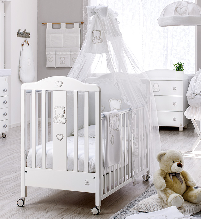 Кровать Italbaby Кровать Italbaby Amore белая