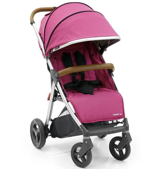 Коляска Oyster Прогулочная коляска Oyster Zero Wow Pink прогулочная коляска cool baby kdd 6699gb t fuchsia light grey
