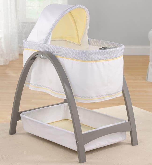 Кроватка-люлька с автоукачиванием Summer Infant BentWood