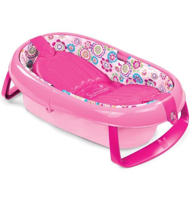 Купить со скидкой Складная детская ванночка Summer Infant Baby's Aquarium