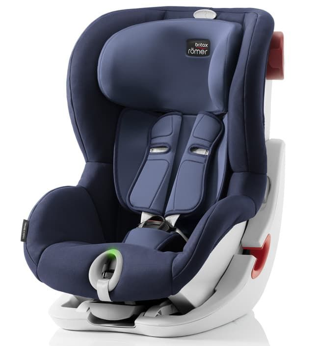 Автокресло Britax Roemer Детское автокресло KING II LS (группа 1, от 9 до 18 кг) Moonlight Blue автокресло britax roemer детское автокресло britax roemer baby safe plus shr ii группа 0 до 13 кг moonlight blue