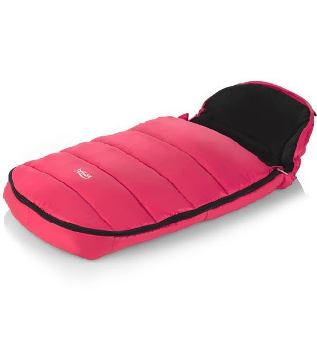 Конверт Britax Конверт в коляску Britax Shiny Pink (розовый)