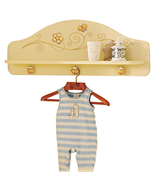 Полка-вешалка Baby Expert Полка-вешалка для одежды Perla крем/золото free shipping 5pcs r0 75 d14 100 150l 2f hrc45 tungsten solid carbide tapered ball nose end mills taper and cone endmills