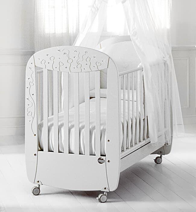Кровать Baby Expert Кровать Butterfly белая