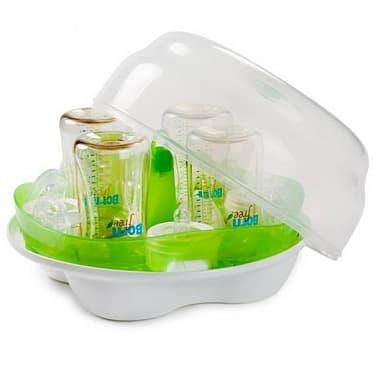 Стерилизатор BornFree Стерилизатор бутылочек BornFree® для микроволновой печи born free стерилизатор бутылочек для микроволновой печи bornfree