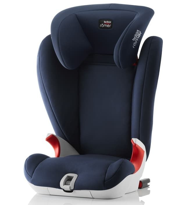 Автокресло Britax Roemer Детское автокресло Britax Roemer Kidfix SL (группа 2-3, от 15 до 36 кг) Moonlight Blue автокресло britax roemer детское автокресло britax roemer baby safe plus shr ii группа 0 до 13 кг moonlight blue