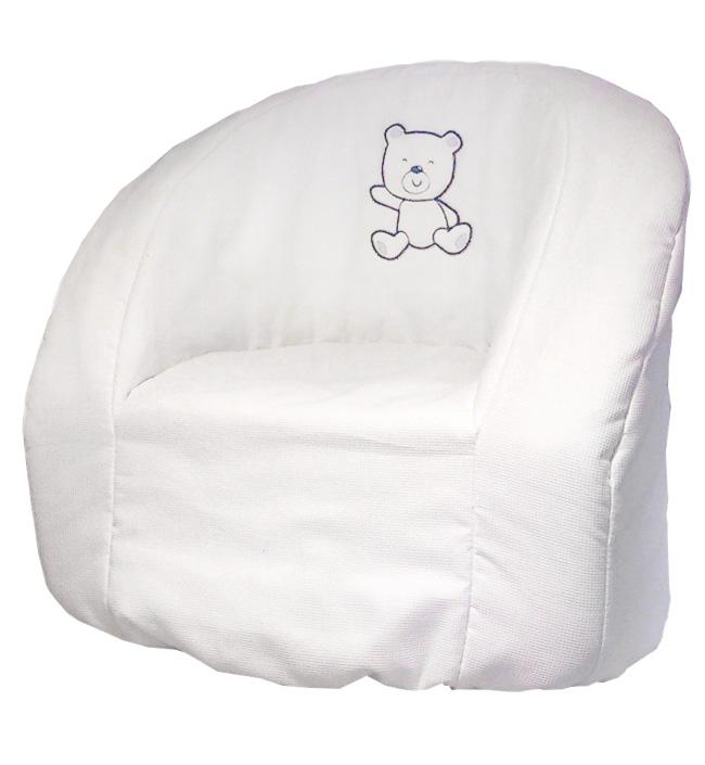 Кресло Italbaby Детское кресло Blue Bear белое детское