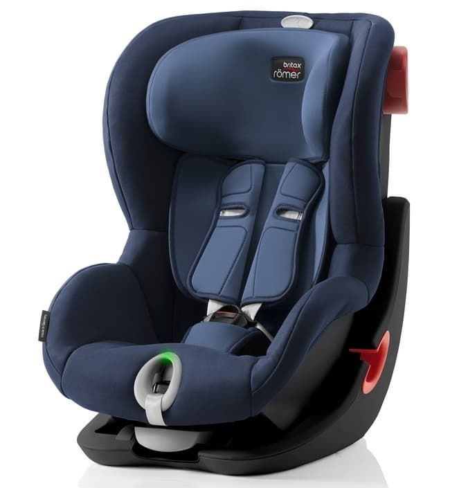 Автокресло Britax Roemer Детское автокресло King II LS Black Series Moonlight Blue автокресло britax roemer детское автокресло britax roemer baby safe plus shr ii группа 0 до 13 кг moonlight blue
