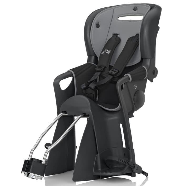 Детское велосипедное кресло Jockey ComfortВелокресла<br>Велокресло Jockey Comfort Black / Grey<br><br>Цвет: Черный/серый<br>Габариты ( В х Ш х Д ), см: 74,5-83,5x38x47