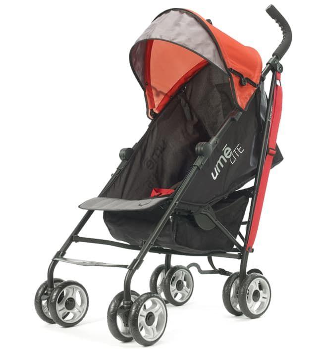 Детская прогулочная коляска-трость Summer Infant Ume LiteДетские коляски<br>Детская прогулочная коляска Ume Lite, черно-красный<br><br>Цвет: Черно-красный<br>Габариты ( В х Ш х Д ), см: None