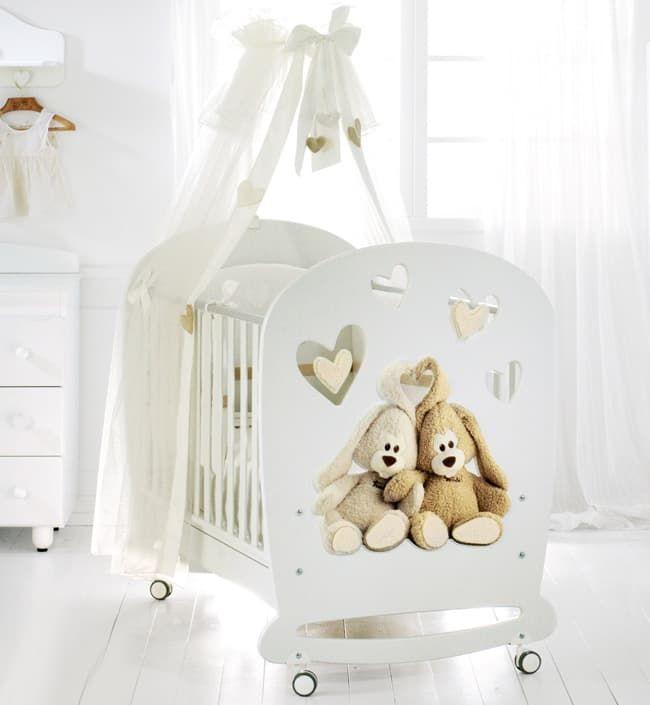 Кровать Baby Expert Детская кровать Cremino by Trudi белая детская кровать