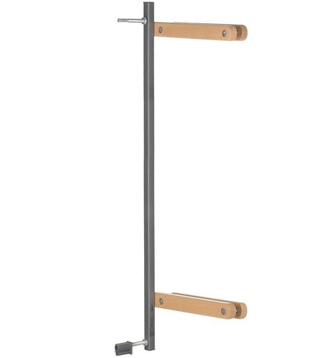 Аксессуар Geuther Дополнительный зажим для Easy Lock Wood натуральный/серебро geuther 8 см серебро