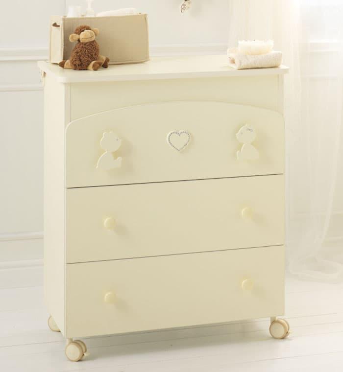 Пеленальный комод Baby Expert Пеленальный комод Primo Amore крем комод бельевой baby expert perla крем золотой