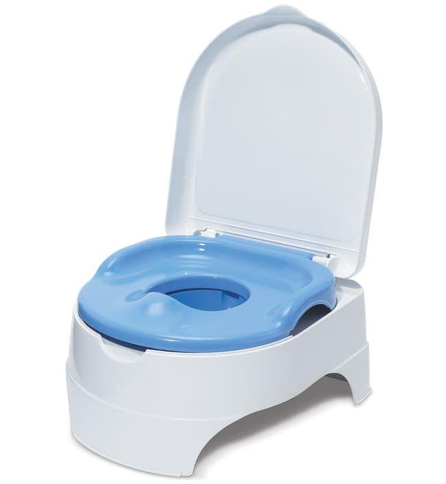 Горшок + стульчик-подножка Summer Infant (2 в 1)Детские горшки<br>11010 Горшок + стульчик-подножка Summer Infant (2 в 1) голубой<br><br>Цвет: Голубой<br>Габариты ( В х Ш х Д ), см: None