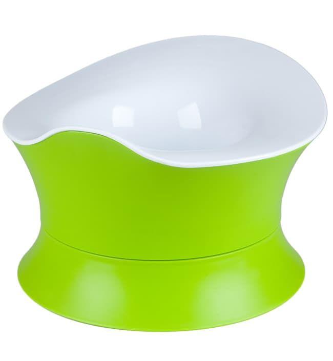 Горшок Angelcare Детский горшок Angelcare Growing Up Potty бело-зеленый горшок с поддоном горошек 2л бело зеленый пластик