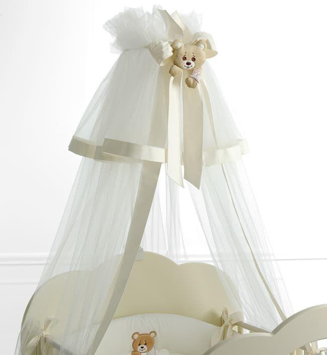 Балдахин Baby Expert Балдахин для кровати  Abbracci by Trudi белый с кремовым