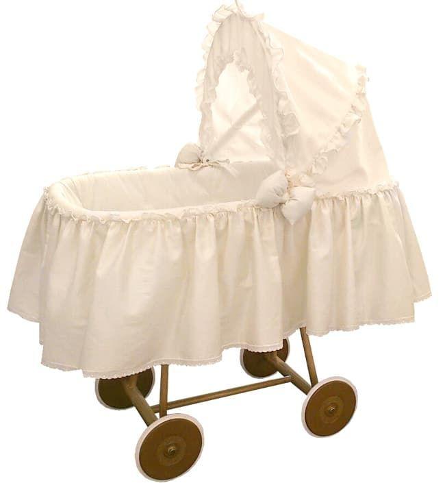 Кроватка-люлька Italbaby Кроватка-люлька на колесах Pasticcini крем
