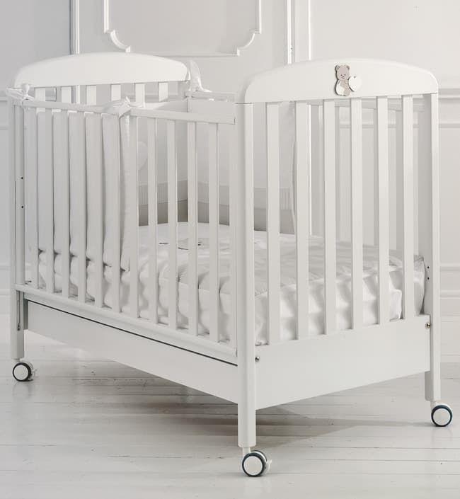 Кровать Baby Expert Детская кровать Tato белая детская кровать