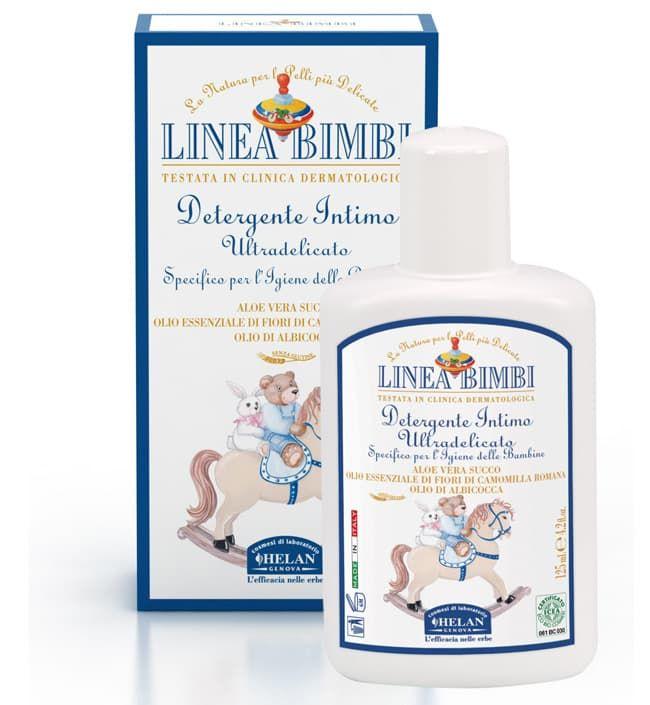 Мягкое очищающее средство для интимной гигиены Helan Linea Bimbi, 125 мл