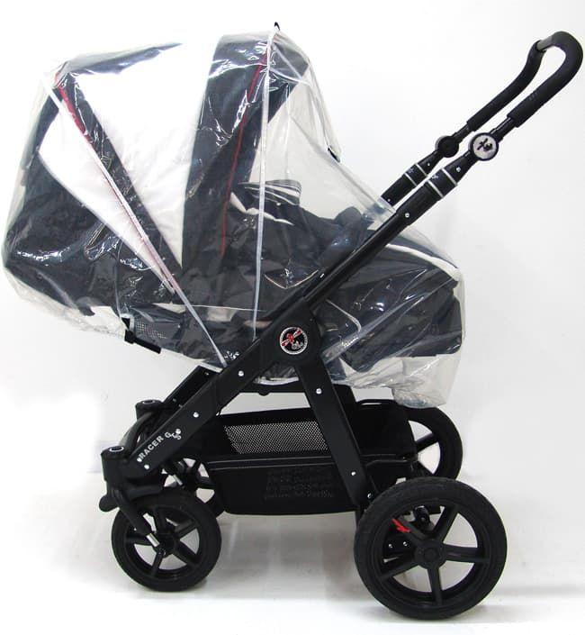Дождевик для детской коляски HartanАксессуары для колясок<br>Дождевик для детской коляски<br><br>Цвет: Прозрачный<br>Габариты ( В х Ш х Д ), см: None