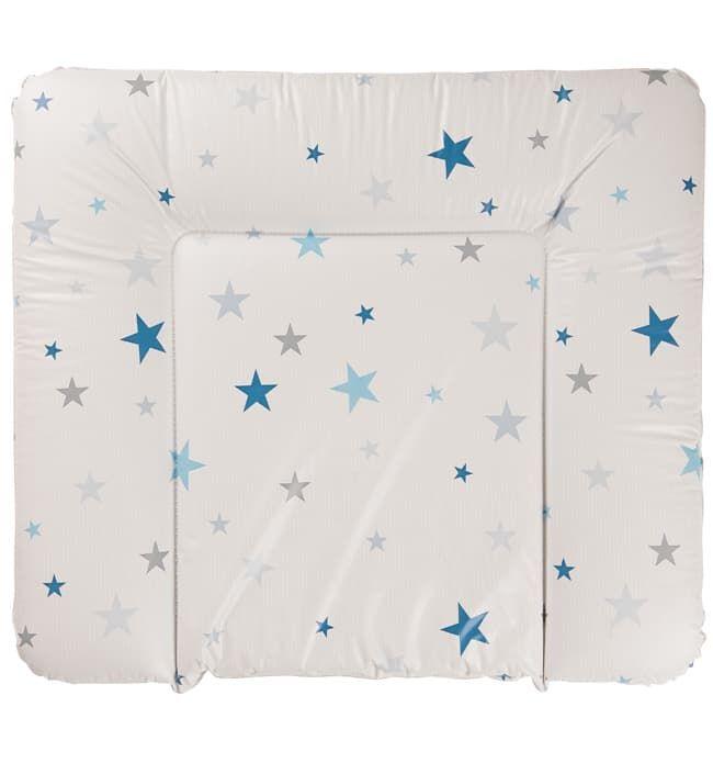 Накладка для пеленания Geuther белая с синими звездами