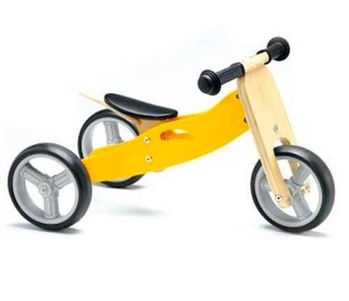 Велосипед Geuther Велосипед Minibike 2 в 1 желтый велосипед geuther детский трехколесный велосипед geuther dreirad натуральный красный