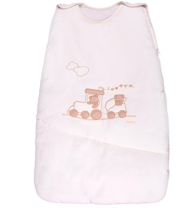 Теплый детский спальник-конверт Trenino крем 40x70 см (Italbaby)
