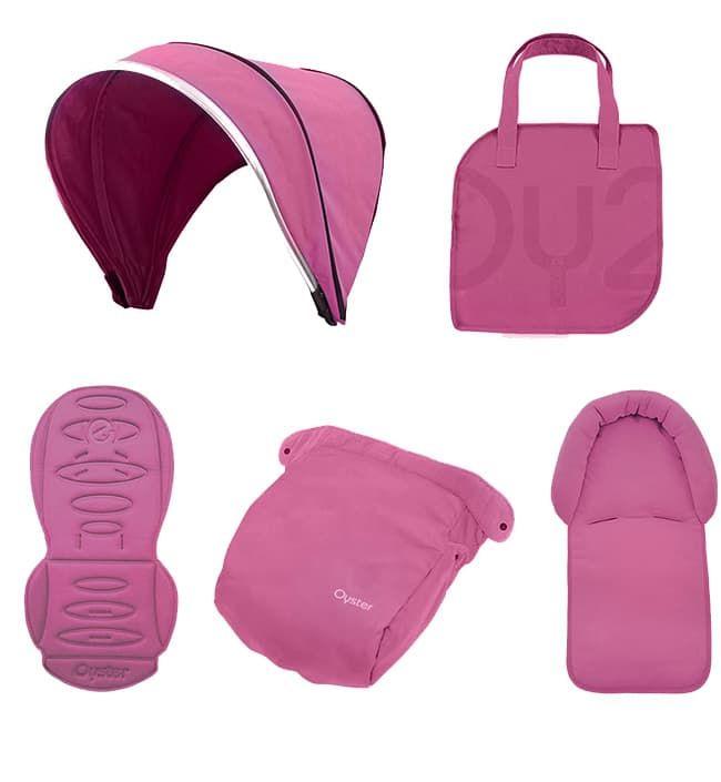 Аксессуар Oyster Набор цветных вставок Colour pack для колясок Oyster2/MAX Wow Pink аксессуар набор для объемного рисования feizerg f001 pink fspi001